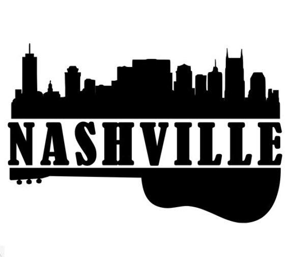 Image result for nashville city guitar logo