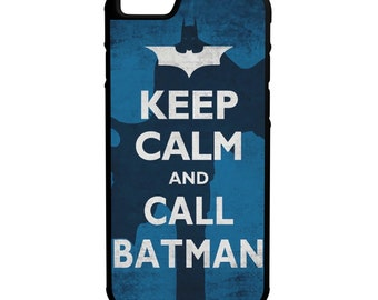 Keep Calm Call Batman iPhone Galaxy Note LG HTC Hybrid Rubber Protective Case