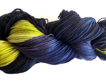 Nordic light, handdyed merino superwash