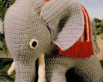 elephant toy crochet pattern 99p pdf