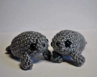 Crochet Mini Manatee