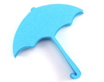 Umbrella Paper Cut Outs set of 25