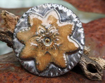 Handgemachte Cabochon - Perlmutt-Perle Glanz Finish