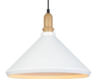 White Minimalist Pendant Lighting