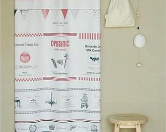 Cotton Linen Fabric Cloth -DIY Cloth Art Manual Cloth- Zakka Sewing 57x35Inches