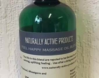 100ml,Happiness Blend,Massage Bath oils,Frankincense, Patchouli.Ylang Ylang 3rd