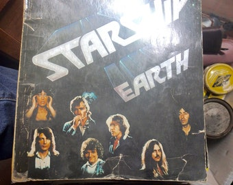 jefferson Starship Earth 1978 songbook