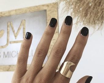 Wave Cuff Ring