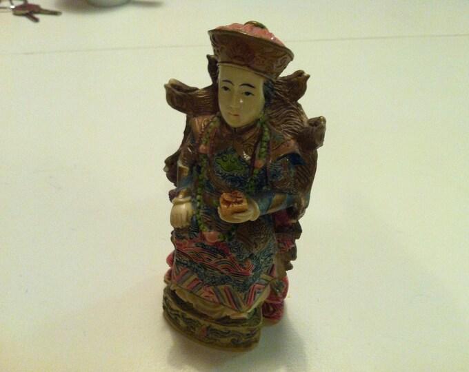 Vintage Stone Figure Decoration