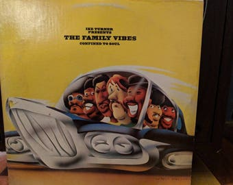 Ike Turner Presents The Family Vibes - Confined To Soul - Vinyl