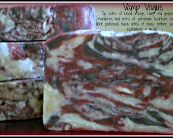 Vamp Vogue - Rustic Suds Natural - Organic Goat Milk Triple Butter Soap Bar - 5-6oz. Each