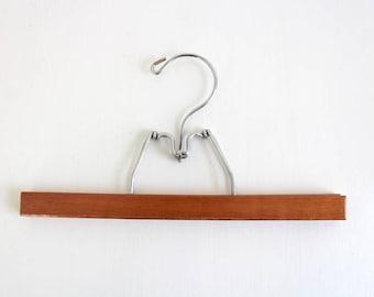 Vintage Hanger, Wooden Hanger, Vintage Wooden Hanger, Wooden Skirt Hanger, Wooden Pants Hanger, Folding Hanger, Photo Display, Art Display