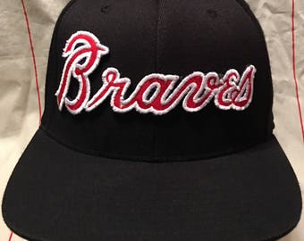detailed look 9dbd9 ca7b6 authentic atlanta braves georgia southern hat template 523a4 942e3
