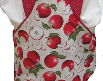 Vintage Country Apple Waist or Clothespin Apron