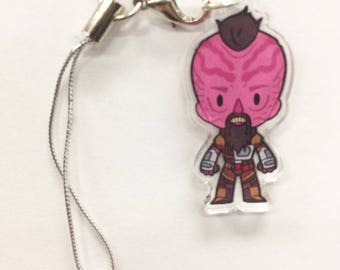 Guardians of the Galaxy - Taserface Acrylic Charm