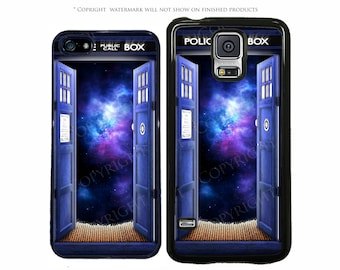 Doctor Who Tardis Space Phone Case Apple iPhone 7, 7 Plus, iPhone 8, Galaxy S8, S8 Plus, S7, S7 Edge, S6, LG G6, Google Pixel, XL, Note 8