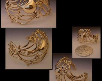 Marin gold bracelet
