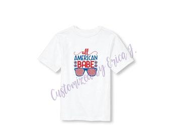 All American Babe shirt