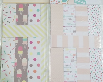 Paper chain kit // DIY Kit // party decor // paper garland