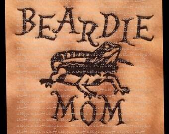 Bearded Dragon Beardie Mom Ubby