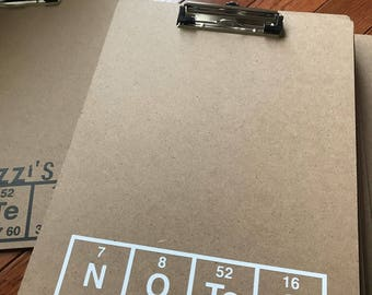 Science Clip Board