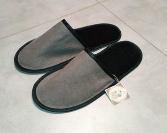 zero waste men's slippers