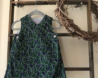 Geometric Dress (6-9m)