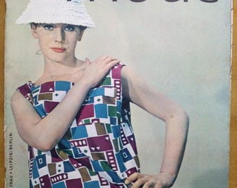 Praktische Mode 5/1963 Sewing pattern magazine