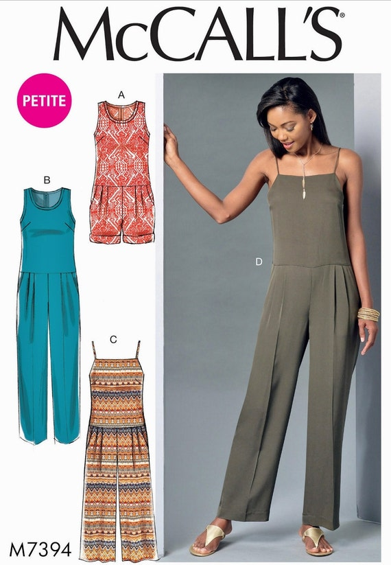 CLEARANCE Sewing Pattern Womens\'s Jumpsuit Pattern
