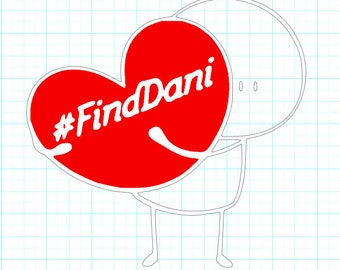 Find Dani Decals
