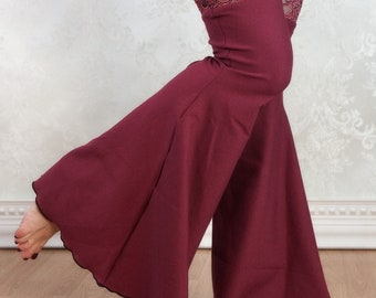 Boho Leggings   Wine and Sass   Bohemian Fashion, Belly Dance Costume, Festival Clothing, Boho Clothing, Festival Leggings, Music Festival
