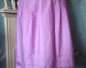 Vintage 1950s pale purple...
