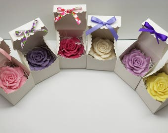 Large Sized Rose Soaps in Gift Boxes (10)