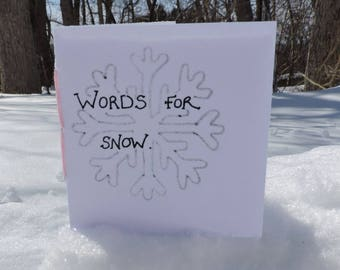 Words For Snow