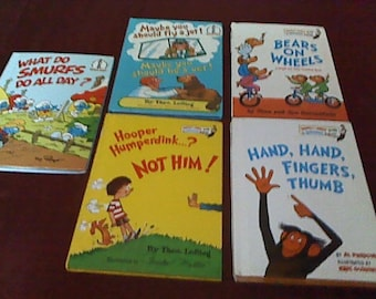 Beginner Children's Reading Books  **  I Can Read All By Myself  by Berenstains, Perkins, LeSieg & Peyo   Vintage Collection