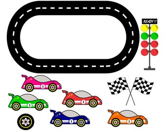 Race Track Wall Art >> Race track   Etsy