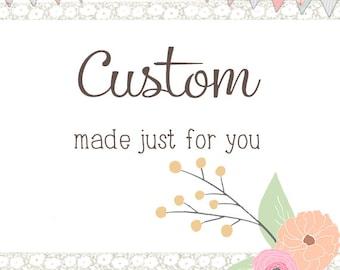 Custom Order - DEPOSIT