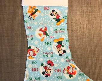 """Mickey and Friends """"Ho Ho Ho"""" Stocking"""