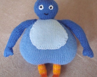 Twirlywoos knitting pattern, BigHoo, Toodloo