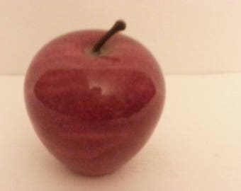 Red Marble Apple