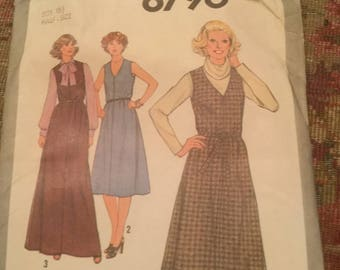 Simplicity Dress Pattern 60's Long or short
