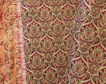 """Gorgeous HOLIDAY brocade 3 yds x 53"""""""