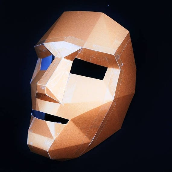 Finest Polygon Face Mask make your own DJ79