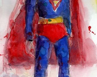 Vintage Superman Toy - Seventies Fun