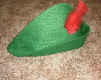 Child's Peter Pan Hat