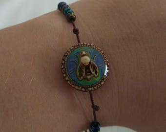 Deb*bee's Adjustable Mood Bead Bracelet