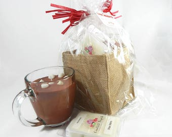Hot Cocoa Candle & Wax Melts Gift Set
