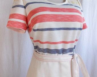 VTG Kay Windsor Poly Knit Dress Large/XL