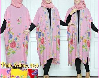KIMONO. Kimono Robe. Festival Clothes. Boho Kimono Jacket. Kimono Boho Cardigan. Hippie Clothes.Boho Kimono -Kimmie Batik clothes Indonesian