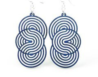 Seamless Circles - Lightweight - Eco Friendly Earrings